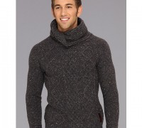 Scotch & Soda Twisted Shawl Yarn Pullover