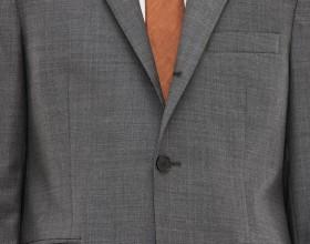 Drifter jacket structured grey