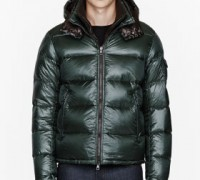 Green removable collar Zin jacket