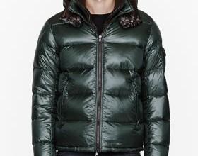 Green removable collar Zin jacket